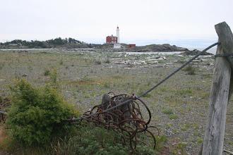 Photo: Reste der U-Boot Fangnetze
