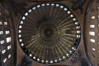 Photo: Day 114 - The Hagia Sophia's Domed Ceiling