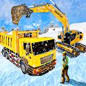 Heavy Duty Snow Excavator: Crane Simulator icon