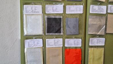 Photo: Diferentes tipos de telas de fibra de vidrio
