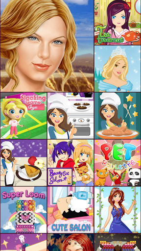 Cake Maker and Dress Up Games