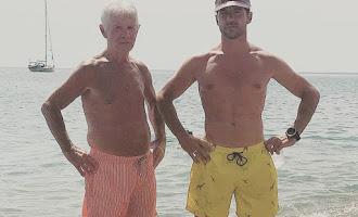Bisbal ha pasado el verano en Almería y en familia