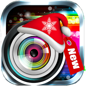 Christmas Sticker Photo Editor