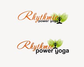 Photo: Rhythmic power yoga logo design #logodesign  #concept  #creativedesigning