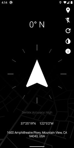 Quick Compass screenshot 2