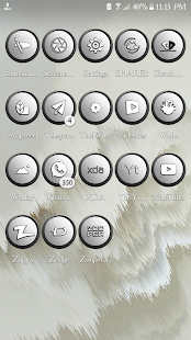 Orbic White Icons Pack - náhled