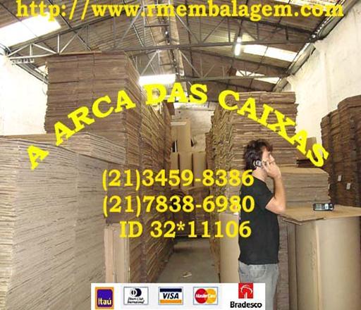 CAIXAS DE PAPELAO - ARCA DAS CAIXAS