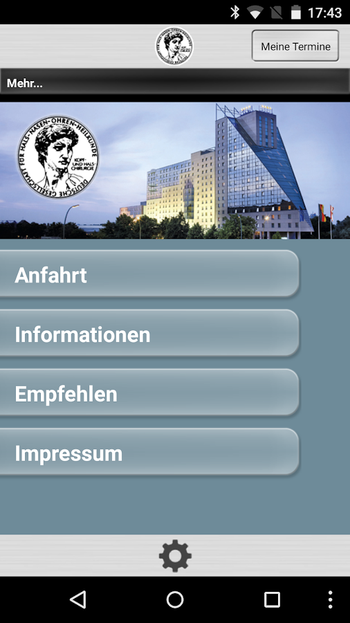 HNO Kongress- screenshot