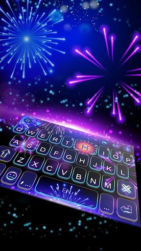 Coolfirework Keyboard Theme ss1