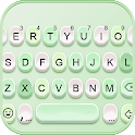 Green Candy Color Keyboard Background icon