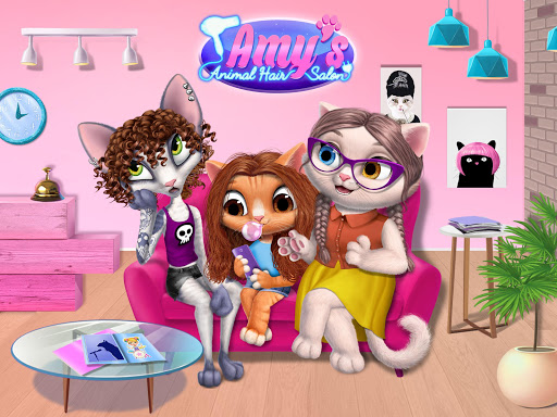 Amy's Animal Hair Salon - Cat Fashion & Hairstyles 4.0.50003 screenshots 9