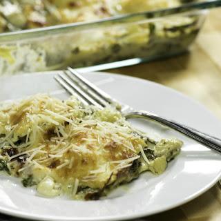 Spinach Ravioli Casserole