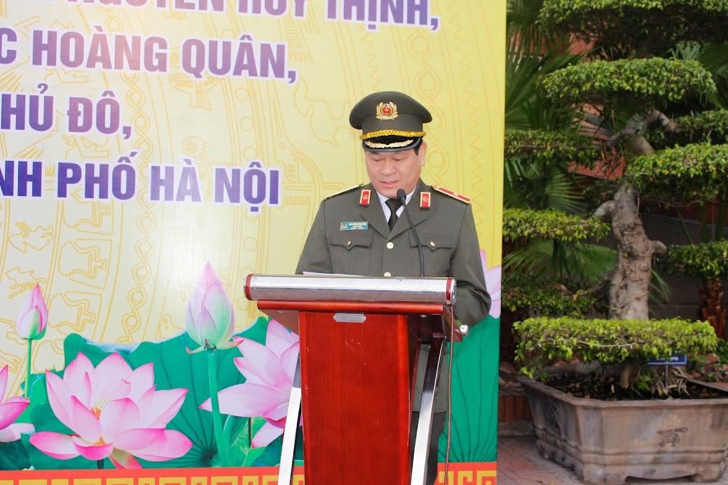 Thiếu tướng Nguyễn Hữu Cầu, Giám đốc Công an tỉnh phát động học tập theo 3 liệt sĩ hi sinh tại Đồng Tâm