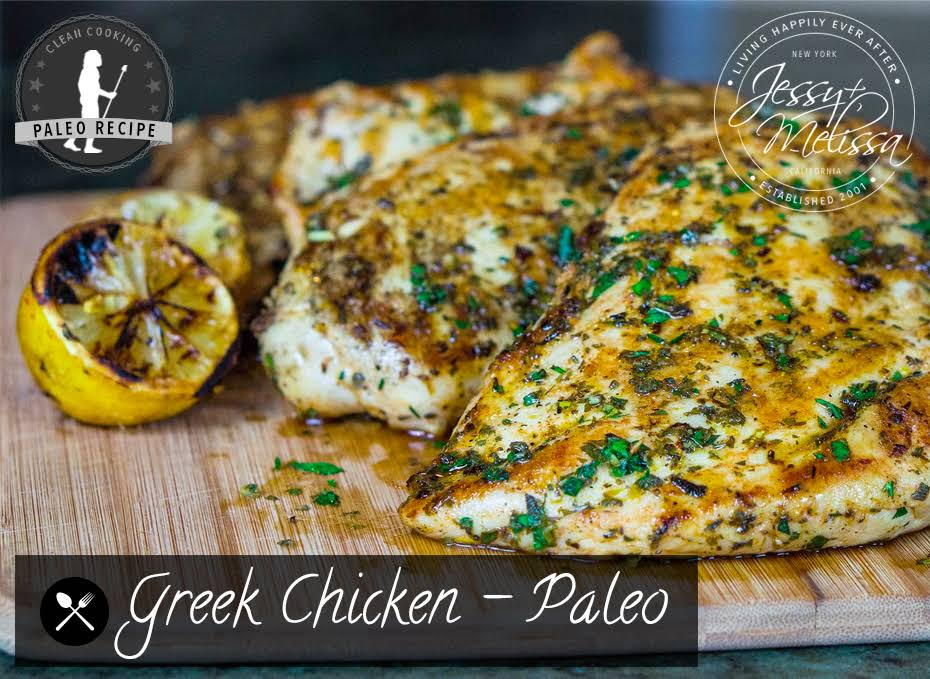 how to make greek chicken breast