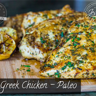 Greek Chicken - Paleo.