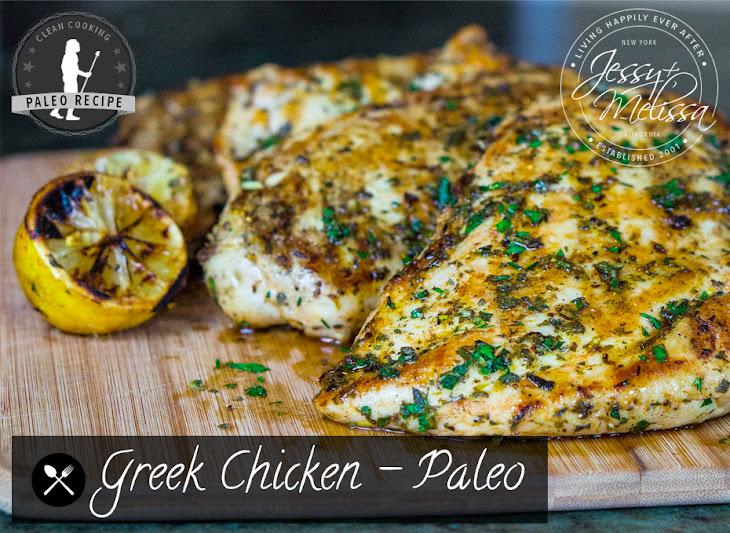 Greek Chicken - Paleo Recipe