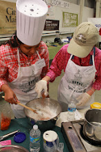 Photo: VT Agency of Agriculture Capital Cook-Off Team members (from left to right) Shelly Saleem, and Lauren Masseria,