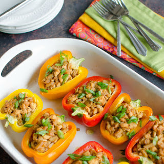 Asian Stuffed Peppers Recipes.
