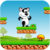 Jungle Panda Running