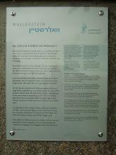 Photo: Informationstafel Judenfriedhof Wallerstein