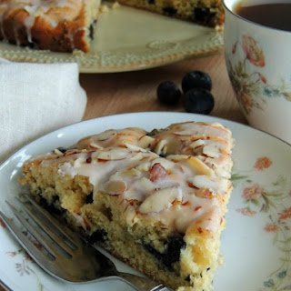 Blueberry & Almond Coffee Cake