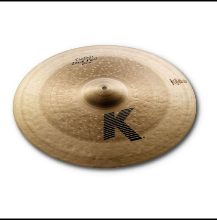 "20"" Zildjian K Custom - Dark Ride"