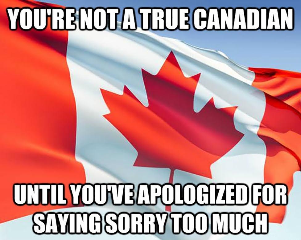 Dlaczego warto jechać do Kanady, Canada, przeprosiny, apologize