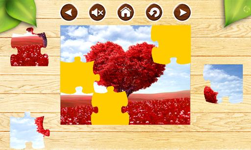 無料解谜Appのバレンタインジグソーパズルゲーム|HotApp4Game