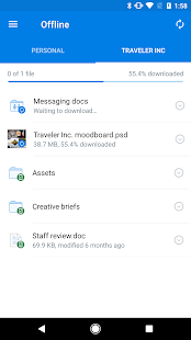 Dropbox – Miniaturansicht des Screenshots