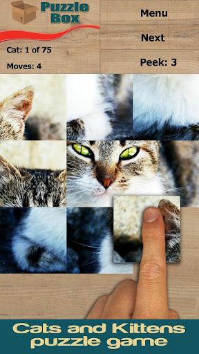 猫和小猫:拼图方块