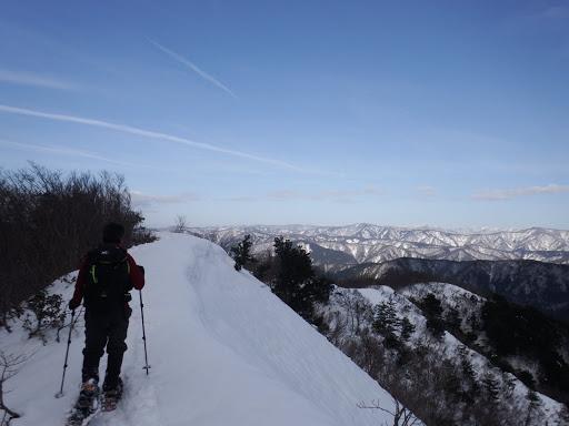 快適な稜線歩き