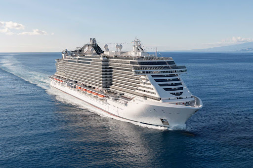 msc-seaside-at-sea.jpg - MSC Seaside will appeal to cruise passengers looking for a wide range of activities and the latest cutting-edge technology.