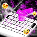 Purple Flame For GO Keyboard icon