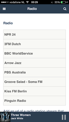 Pi music box client