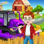 Tractor farming simulator factory icon