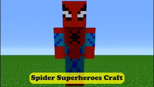 Spider Superheroes MCPE 5