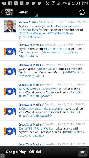 Cross Over Radio  screenshots 2