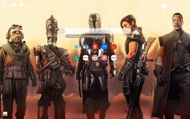 The Mandalorian Star Wars Wallpapers New Tab