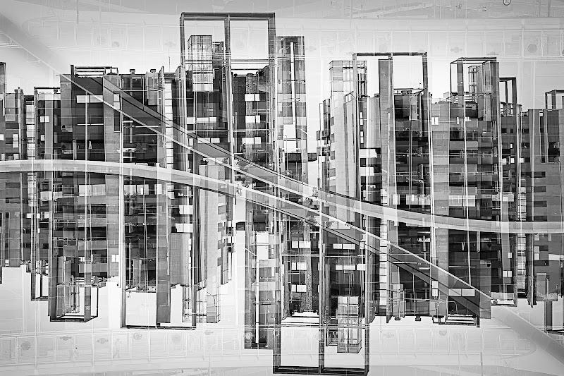 Milano, geometrie urbane di a-mor