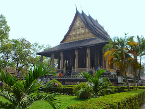 Photo: This is the House of the Emerald Buddha, built in 1565.  The Emerald Buddha is now in Bangkok.