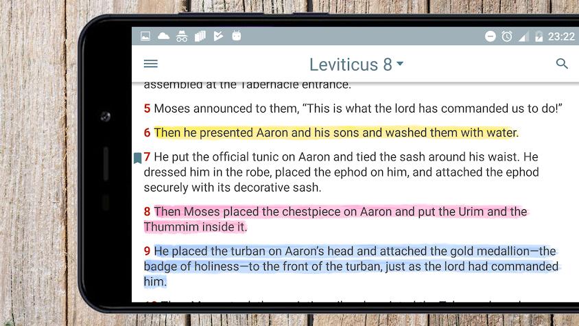 New Living Translation Bible Screenshot