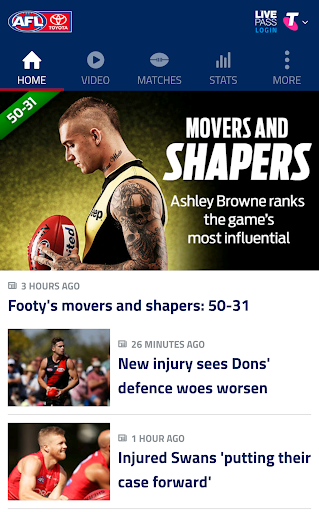 AFL Live Official App 04.07.40656 screenshots 1