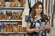 Photo: . . . visiting her shop: Holy Star Gifts. www.anastas-bethlehem.com