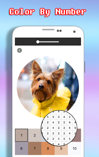 Dog Photography Coloring Book - Color By Number android2mod screenshots 3