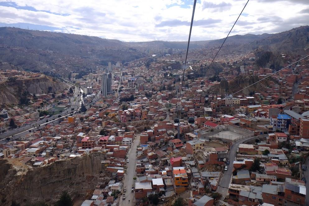 Teleferico w La Paz
