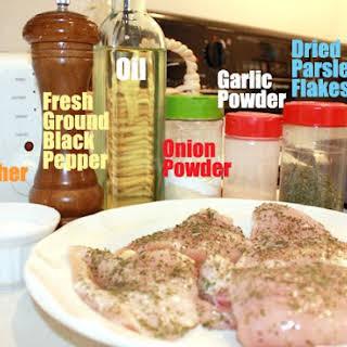 Chicken Breast Seasoning For Salad Recipes.