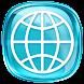 Blue Web Browser