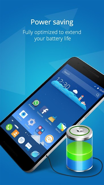 #8. CM Launcher 3D - Theme, Boost (Android)