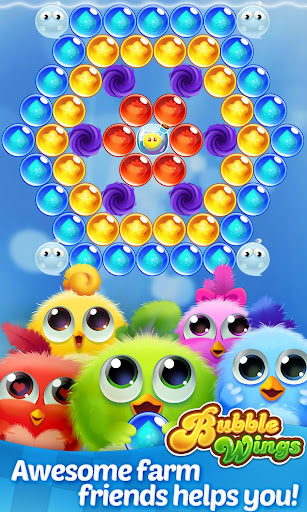 Bubble Wings: offline bubble shooter games 2.3.0 screenshots 4