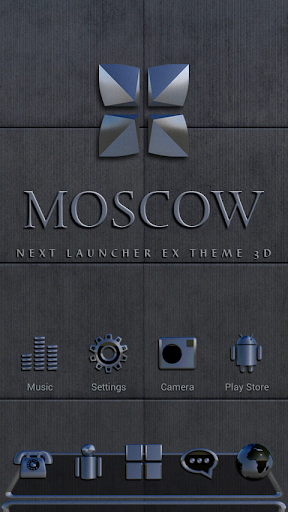 Next Launcher Theme MOSCOW